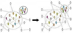 strong and weak network ties_def no text