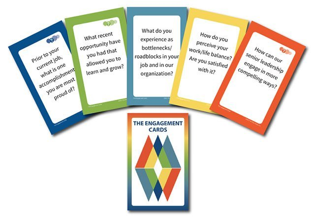 employee engagement cards