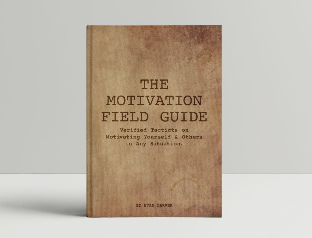 hardcover motivation field guide book